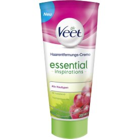 Veet Haarentfernungs-Cream Tube Essential Inspirations