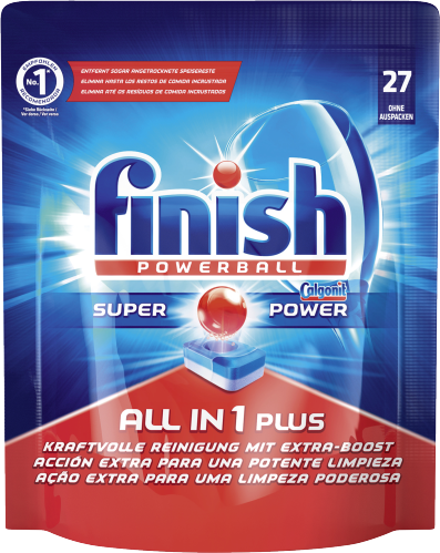 Finish All in 1 Spülmaschinentabs