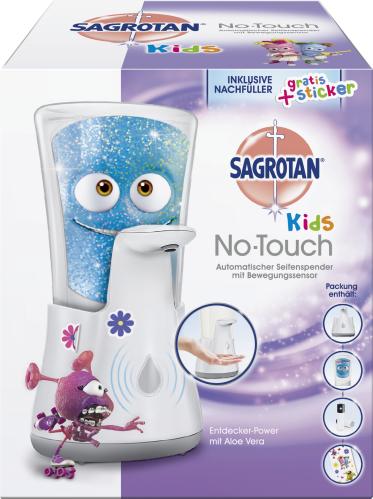 Sagrotan Kids No Touch Gerät plus Nachfüller