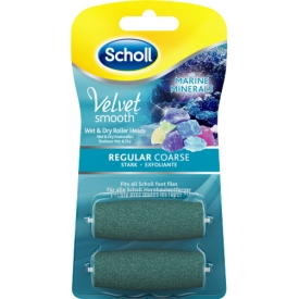 Scholl Velvet Smooth Pedi Nachfüller Wet & Dry Stark