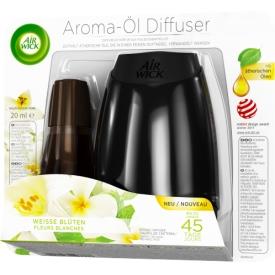 Airwick Aroma-Öl Diffuser Starterset Weiße Blüten