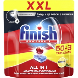 Finish All-In-1 XXL Citrus