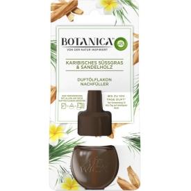Botanica by AirWick Lufterfrischer Duftstecker Karibisches Süßgras & Sandelholz Nachfüllflakon