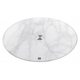 Leonardo Servierplatte Turn Ø33cm  Marmoroptik