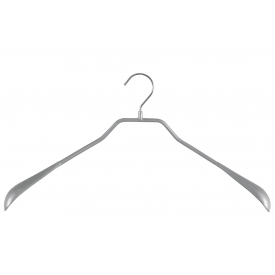 Mawa Trocken-Bügel Body-Form ohne Steg Metall 46cm silber