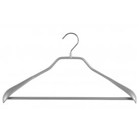 Mawa Trocken-Bügel Body-Form mit Steg Metall 42cm silber