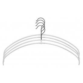 Mawa Trocken-Bügel Economic ohne Steg Metall 42cm weiß 4er Pack