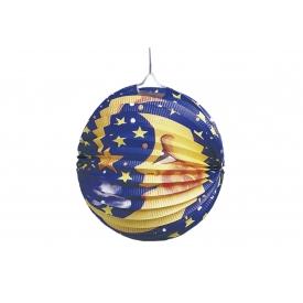 TIB HEYNE Lampion Mond/Sterne sortiert Ø25cm
