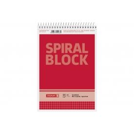 Brunnen Spiralnotizblock A5 50Bl kariert