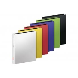 Brunnen Ringbuch Karton A4 2Ring uni farbig sortiert