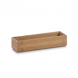 Zeller Present Aufbewahrungsbox Bamboo 23x7,5x5cm natur