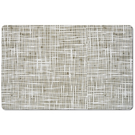 Zeller Present Tischset Abstrakt Kunststoff 43,5x28,5cm grau