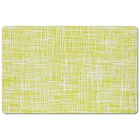 Zeller Present Tischset Abstrakt Kunststoff 43,5x28,5cm grün