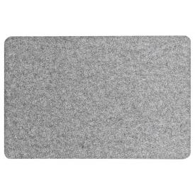 Zeller Present Tischset Filz 45x30cm grau