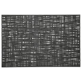 Zeller Present Tischset Scribble 30x45cm schwarz