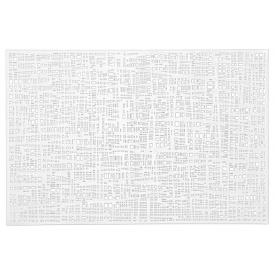 Zeller Present Tischset Scribble 30x45cm weiß