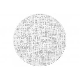 Zeller Present Tischset Scribble ø38cm weiss