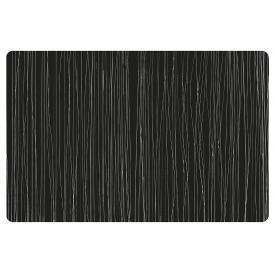 Zeller Present Tischset Metallic 43,5x28,5cm schwarz