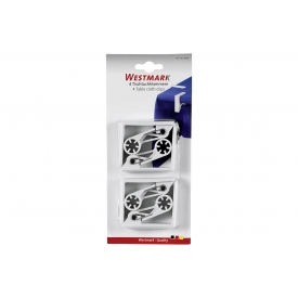 Westmark Tischtuchklammer ABS weiß 4Stück
