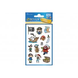 Avery Zweckform KID Papier Sticker Piraten 3Bg 53197