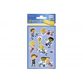Avery Zweckform Glossy Sticker KIDS 57296 Fußball