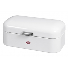Wesco Brotkasten Breadbox Grandy 42x23x17cm weiß