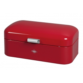 Wesco Brotkasten Breadbox Grandy 42x23x17cm rot