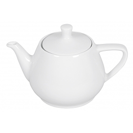 Friesland Teekanne Porzellan 1,5 l weiß