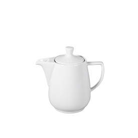 Friesland Kaffeekanne Porzellan 0,6 l weiß