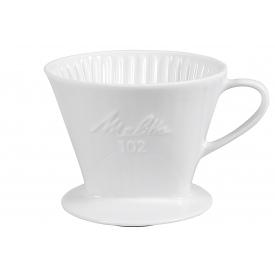 Friesland Kaffeefilter Porzellan Größe 102 1-Loch weiß