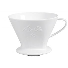 Friesland Kaffeefilter Porzellan Größe 1x4 1-Loch weiß