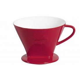 Friesland Kaffeefilter Porzellan Größe 1x4 1-Loch rot