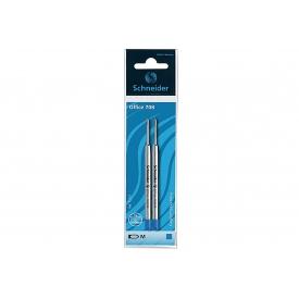 Schneider Kugelschreiberminen 708 M System Parker blau 2 Stück