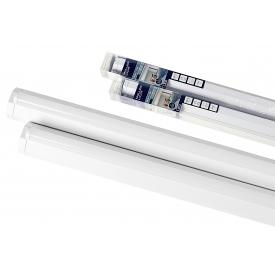 Müller Licht Wand- und Deckenleuchte LED 2700lm 4000K 30W A+ 1200x60x60mm weiß