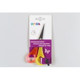 Heyda Bastelschere spitz Linkshänder 13cm farbig sortiert