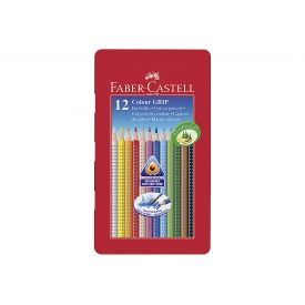 Faber Castell Farbstifte Colour Grip 2001 12er Metalletui