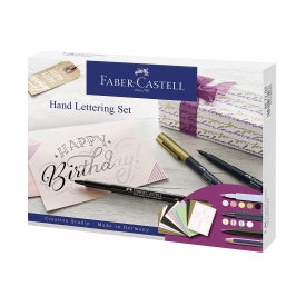 Faber Castell FABER-CASTELL Kreativ Set Handlettering 12-teilig