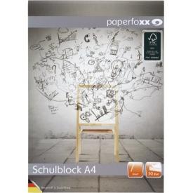 Office Schulblock liniert A4