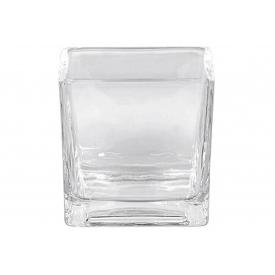 Sandra Rich Vase Würfel Glas 7,5x7,5x7,5cm klar