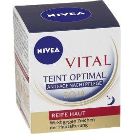 Nivea Nachtpflege Visage Vital Teint Optimal Anti-Age