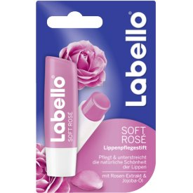 Labello Lippenpflegestift Soft Rose