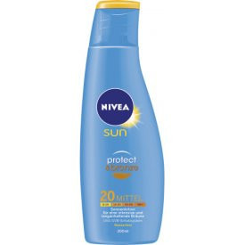 Nivea Sun Protect & Bronze Lotion LSF 20