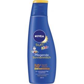 Nivea Sun Sonnenmilch für Kinder LF 50