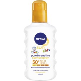 Nivea Sun Kids Pure & sensitive Sun Spray LSF 50