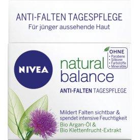 Nivea Anti-Falten Visage Pure & Natural  Spendet intensive Feuchtigkeit