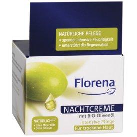 Florena Nachtpflege mit Bio-Olivenöl
