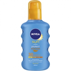 Nivea  Sun Protect &  Bronze Spray LSF 30