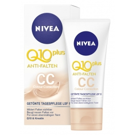 Nivea Visage Anti-Falten Q10 Plus Getönte Tagespflege