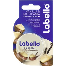 Labello Lip Butter Vanilla   Macadamia