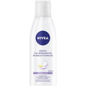 Nivea Reinigungsfluid Sensitive 3 in 1 Sensible Haut